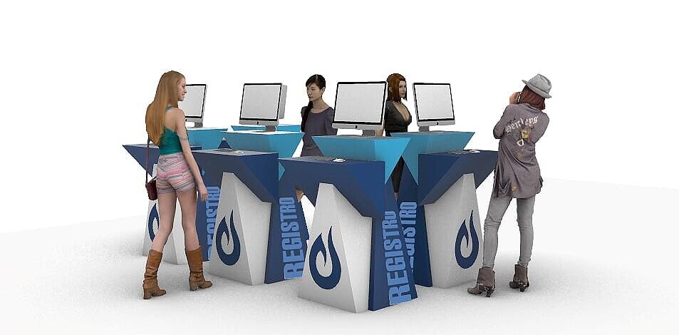Área de registro Virtual